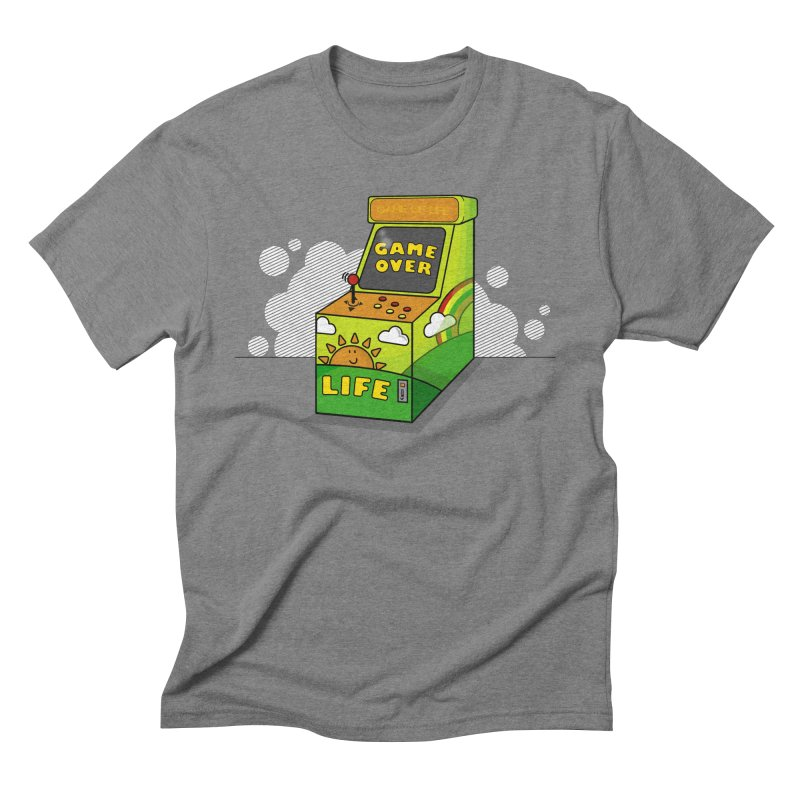 Game of Life Men's Triblend T-Shirt by jumpy's Artist Shop