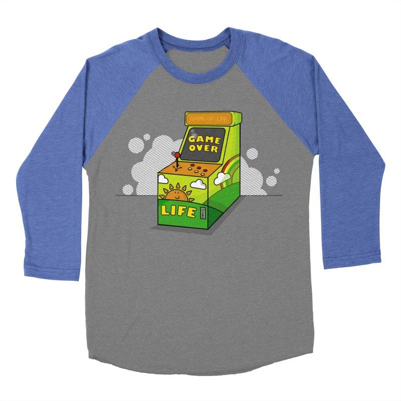 Game of Life Women's Baseball Triblend T-Shirt by jumpy's Artist Shop
