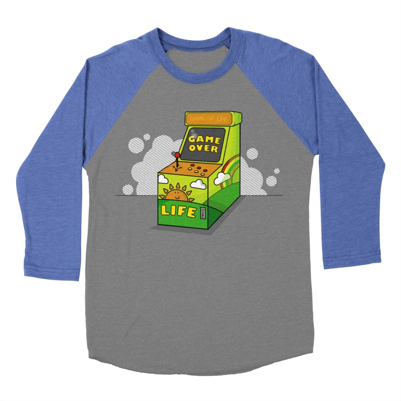 Game of Life Men's Baseball Triblend T-Shirt by jumpy's Artist Shop