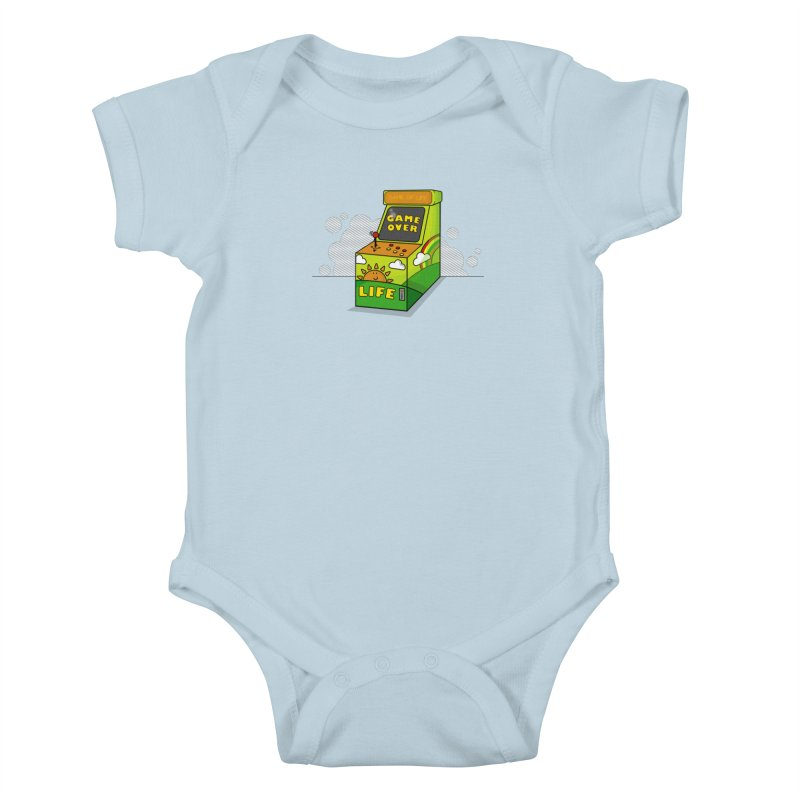 Game of Life Kids Baby Bodysuit by jumpy's Artist Shop