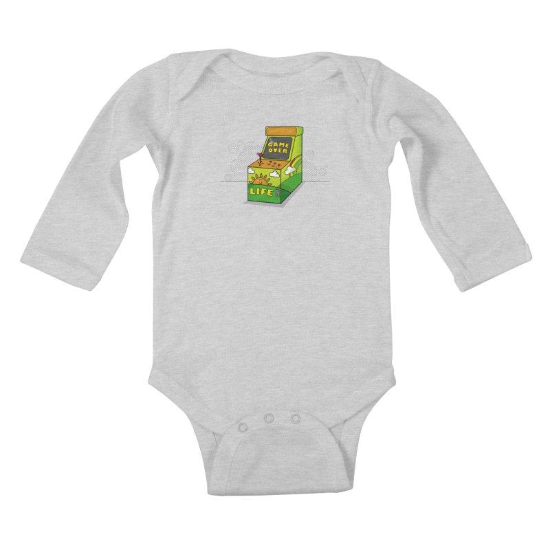 Game of Life Kids Baby Longsleeve Bodysuit by jumpy's Artist Shop