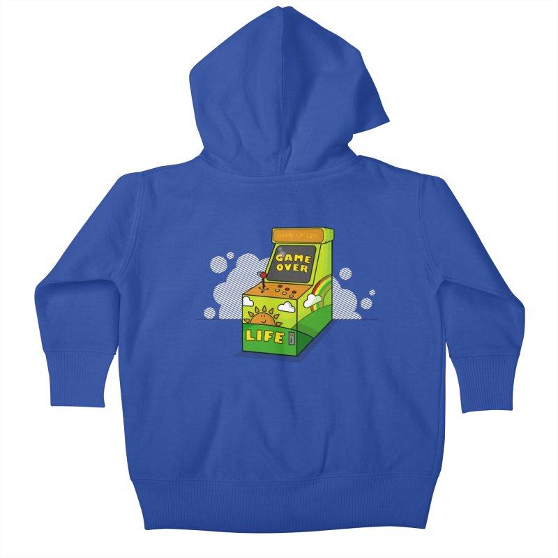 Game of Life Kids Baby Zip-Up Hoody by jumpy's Artist Shop