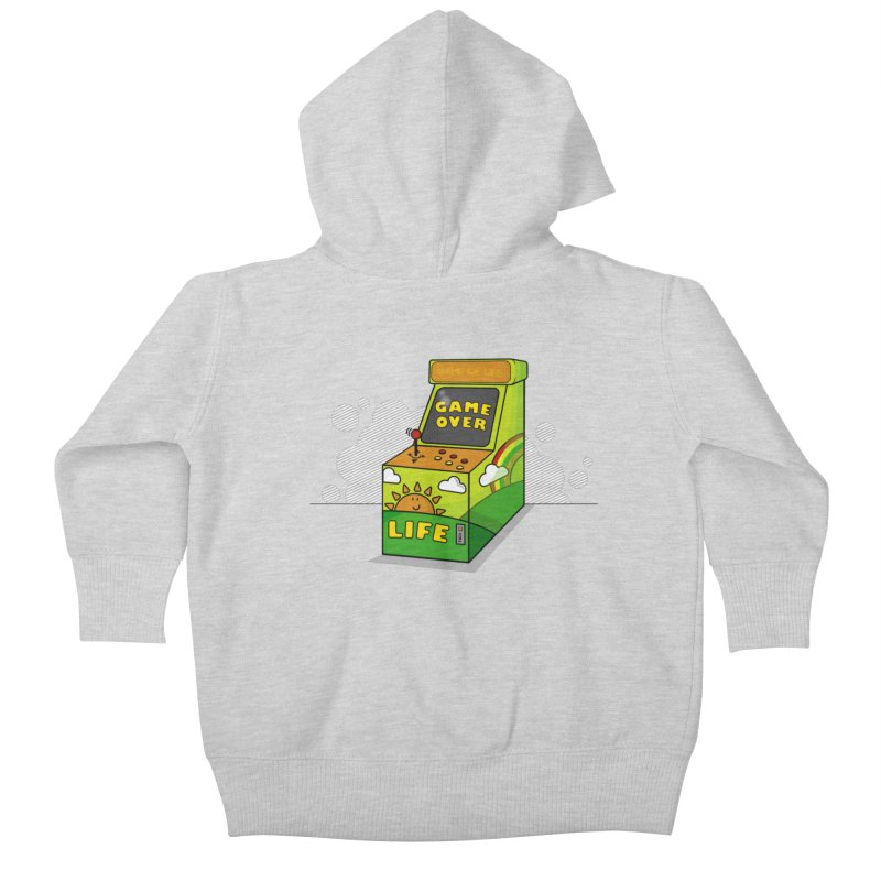 Game of Life Kids Baby Zip-Up Hoody by jumpy's Artist Shop