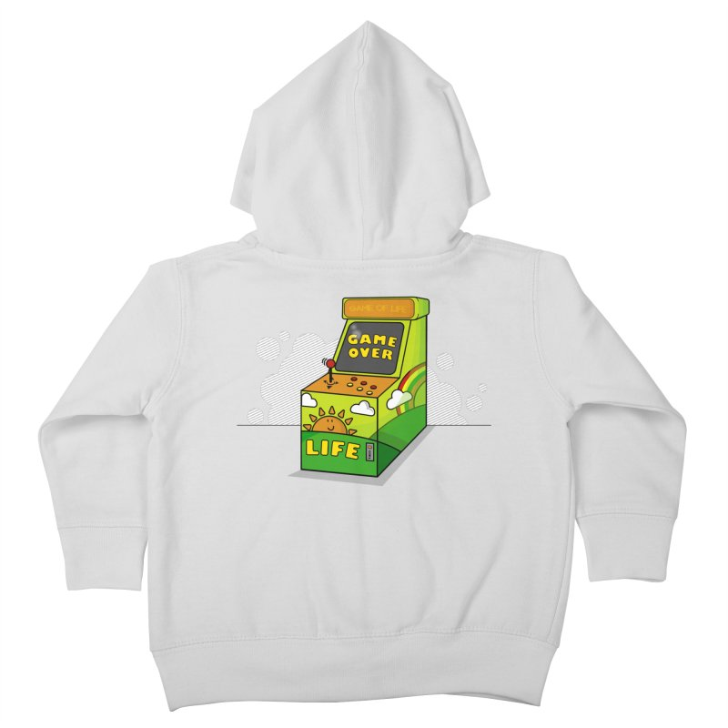 Game of Life Kids Toddler Zip-Up Hoody by jumpy's Artist Shop