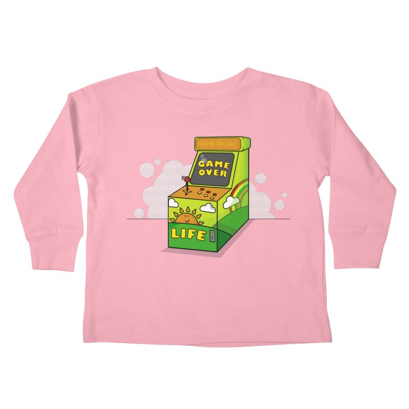 Game of Life Kids Toddler Longsleeve T-Shirt by jumpy's Artist Shop
