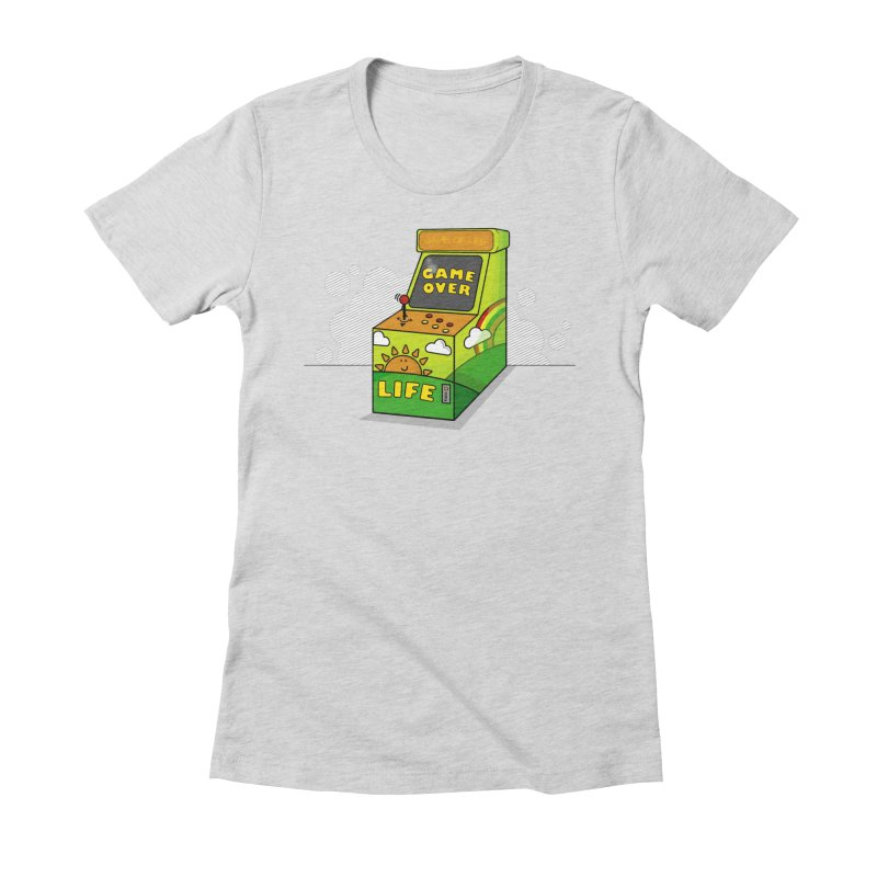 Game of Life Women's Fitted T-Shirt by jumpy's Artist Shop