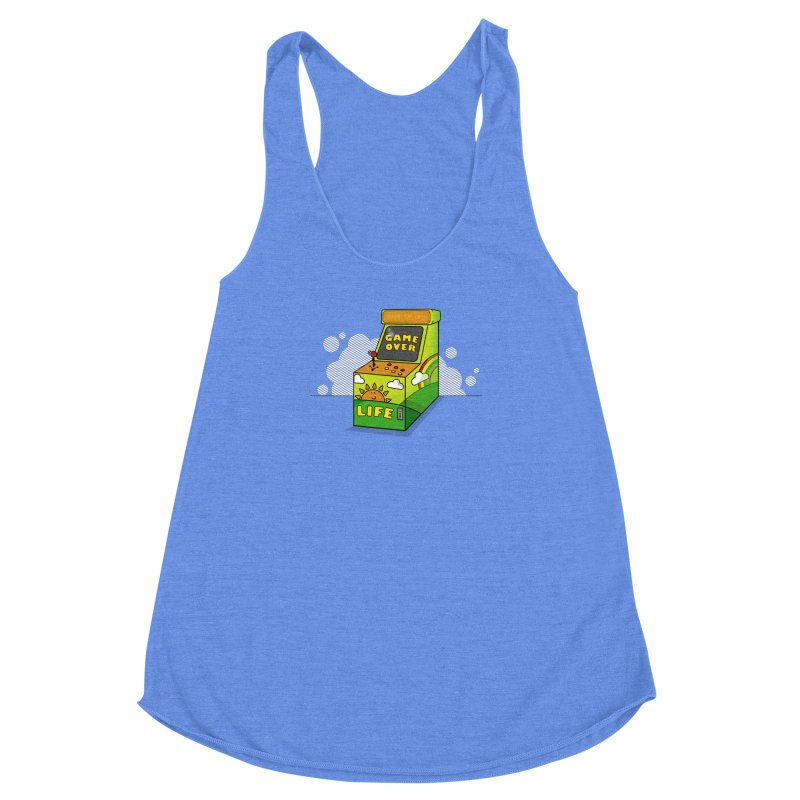 Game of Life Women's Racerback Triblend Tank by jumpy's Artist Shop