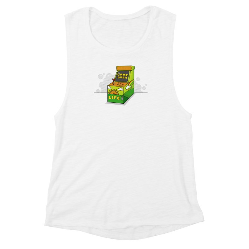 Game of Life Women's Muscle Tank by jumpy's Artist Shop