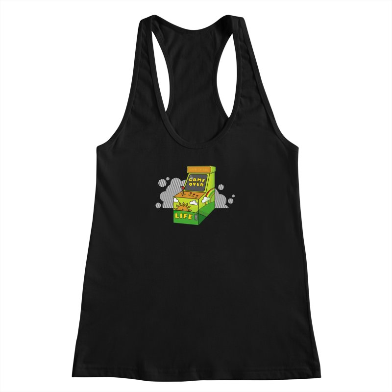 Game of Life Women's Racerback Tank by jumpy's Artist Shop