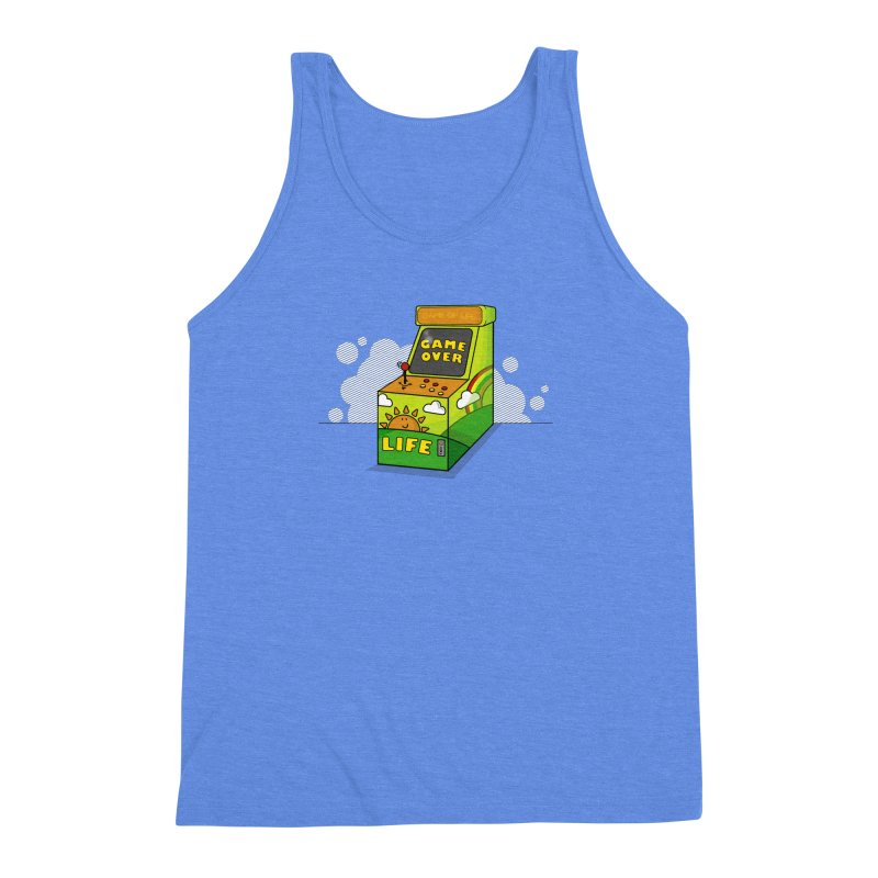 Game of Life Men's Triblend Tank by jumpy's Artist Shop