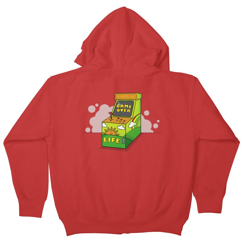 Game of Life Kids Zip-Up Hoody by jumpy's Artist Shop