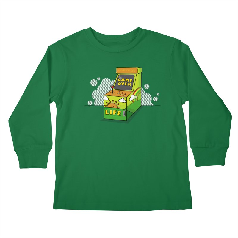 Game of Life Kids Longsleeve T-Shirt by jumpy's Artist Shop