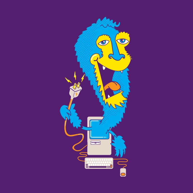 Macintosh the Monster None  by jumpy's Artist Shop