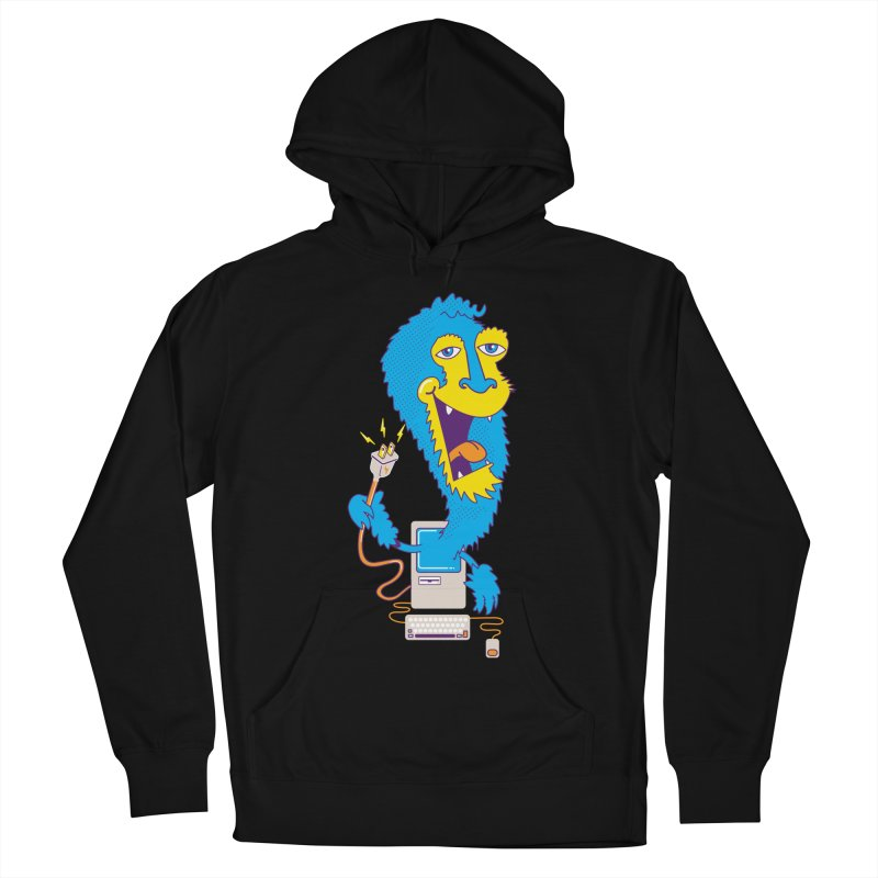 Macintosh the Monster Women's Pullover Hoody by jumpy's Artist Shop