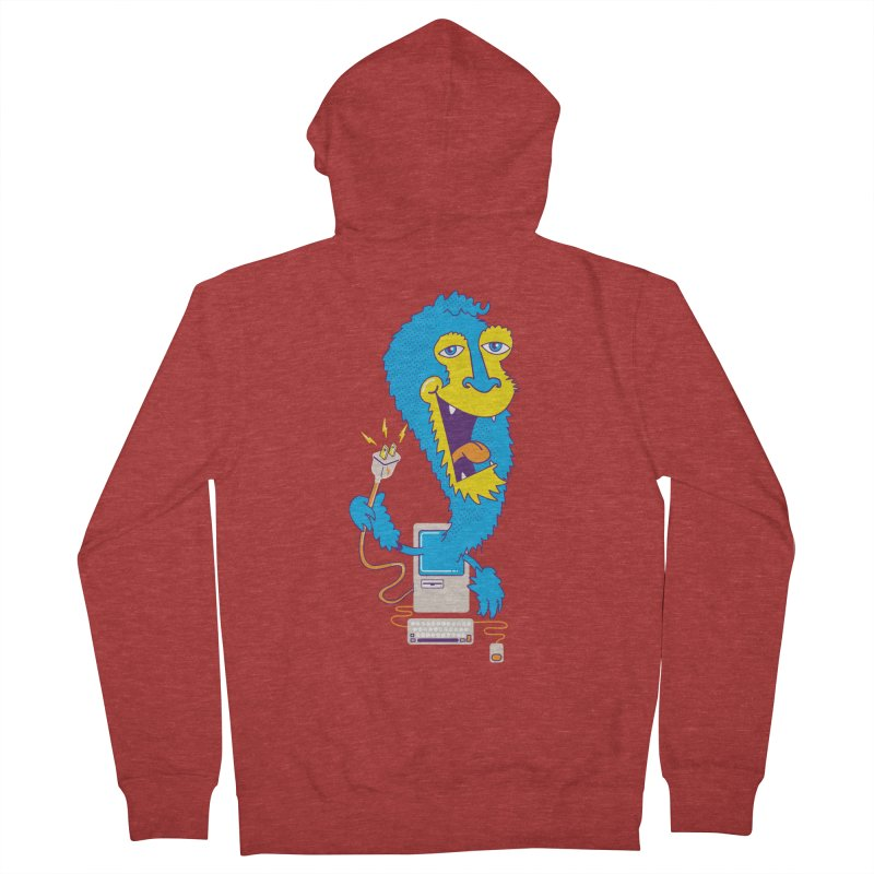 Macintosh the Monster Women's Zip-Up Hoody by jumpy's Artist Shop