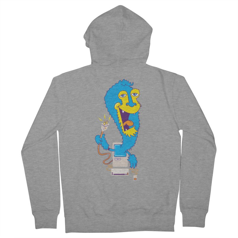 Macintosh the Monster Men's Zip-Up Hoody by jumpy's Artist Shop