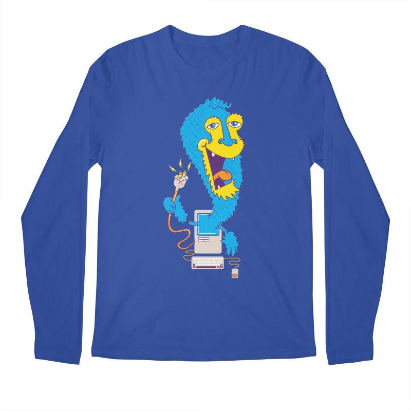 Macintosh the Monster Men's Longsleeve T-Shirt by jumpy's Artist Shop