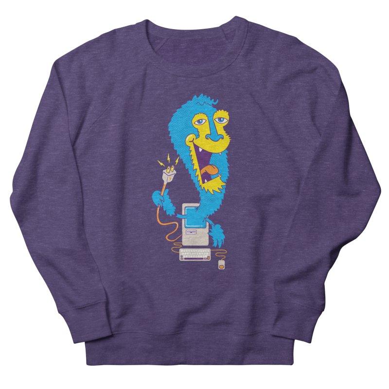 Macintosh the Monster Men's Sweatshirt by jumpy's Artist Shop