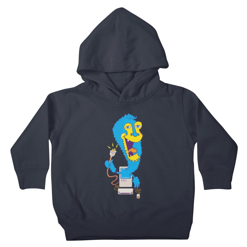 Macintosh the Monster Kids Toddler Pullover Hoody by jumpy's Artist Shop