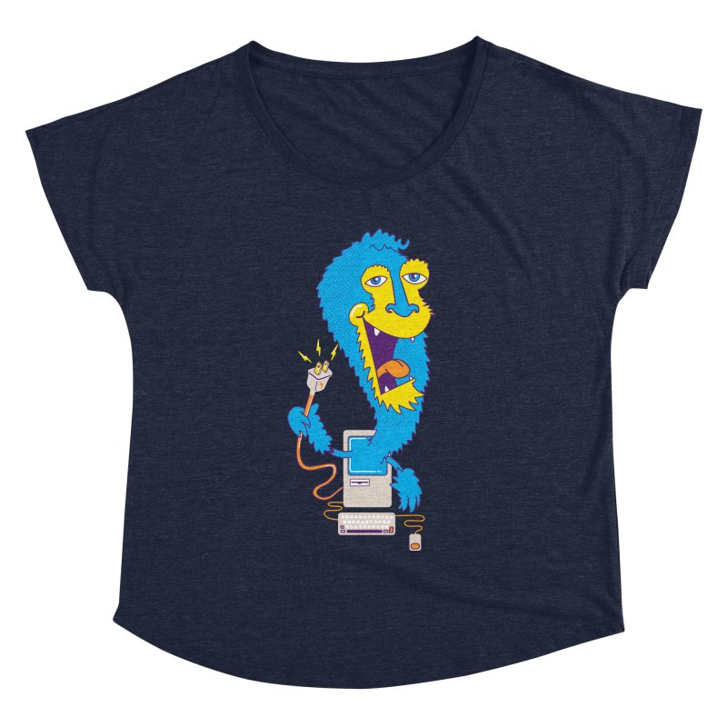 Macintosh the Monster Women's Dolman by jumpy's Artist Shop