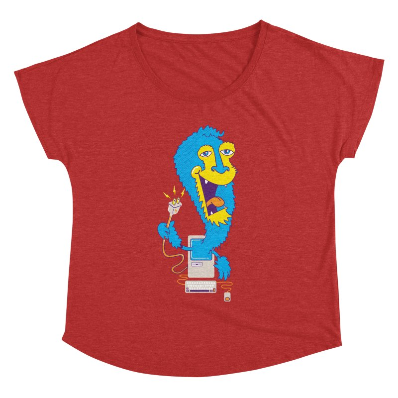 Macintosh the Monster Women's Dolman by jumpy's Artist Shop