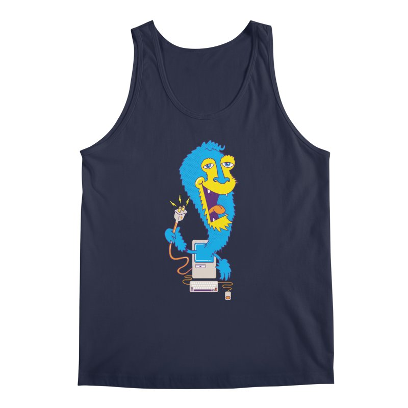 Macintosh the Monster Men's Tank by jumpy's Artist Shop