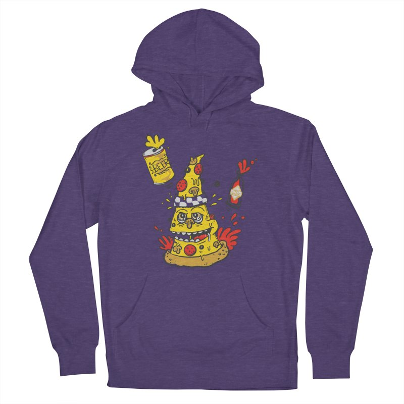 Pizza, Hot Sauce & Beer Women's Pullover Hoody by jumpy's Artist Shop