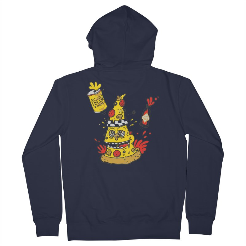 Pizza, Hot Sauce & Beer Women's Zip-Up Hoody by jumpy's Artist Shop