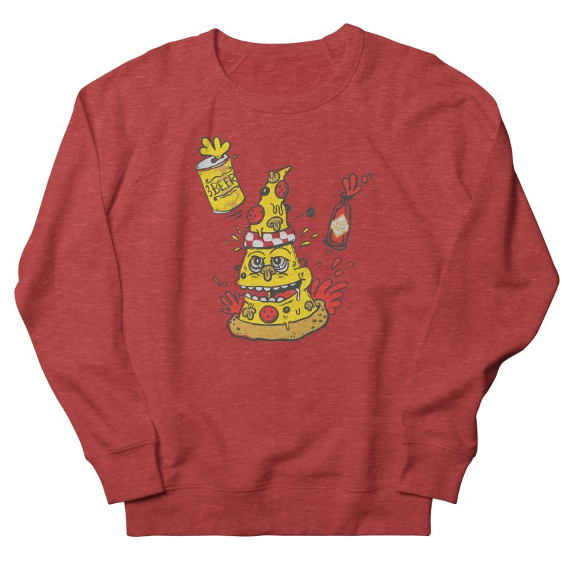 Pizza, Hot Sauce & Beer Women's Sweatshirt by jumpy's Artist Shop