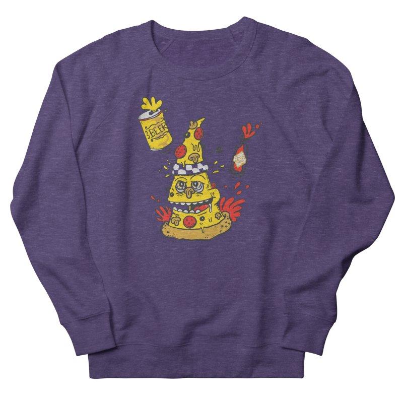 Pizza, Hot Sauce & Beer Men's Sweatshirt by jumpy's Artist Shop