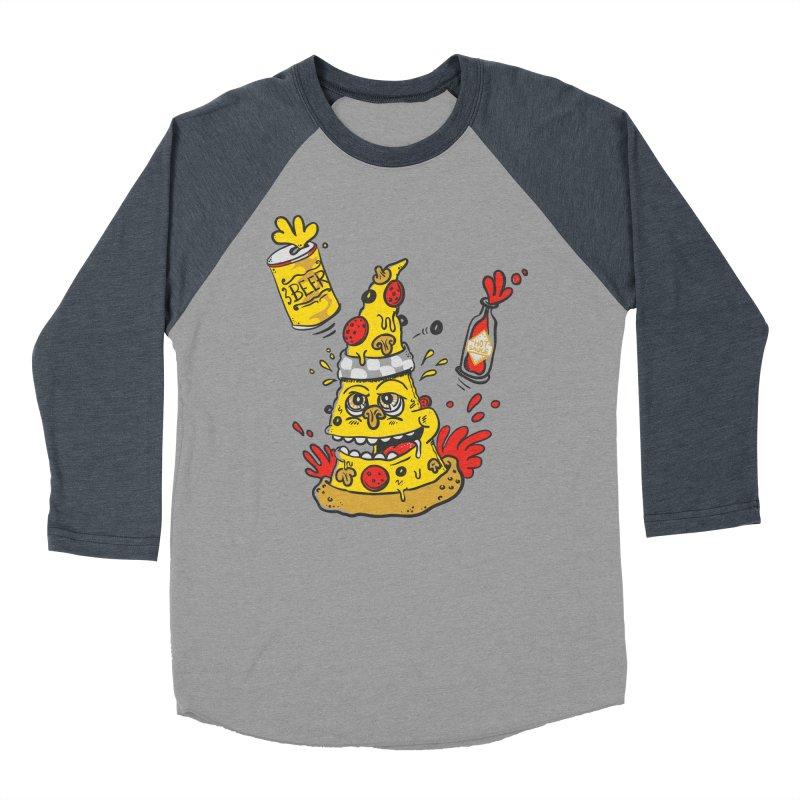 Pizza, Hot Sauce & Beer Women's Baseball Triblend T-Shirt by jumpy's Artist Shop