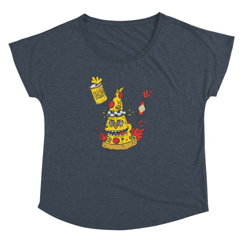 Pizza, Hot Sauce & Beer Women's Dolman by jumpy's Artist Shop