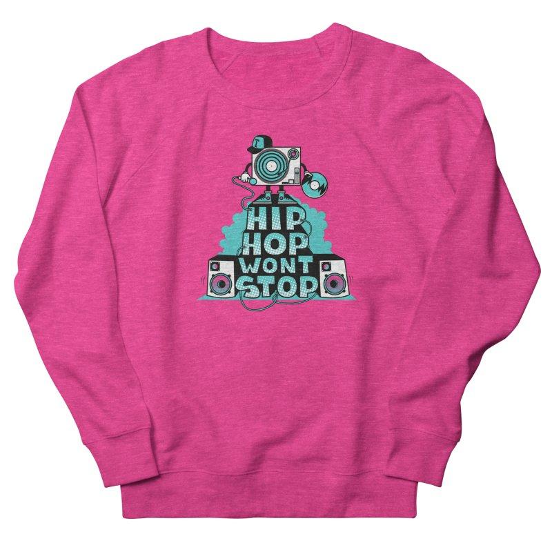 HIP-HOP WON'T STOP Men's Sweatshirt by jumpy's Artist Shop