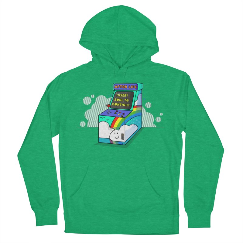 AFTERLIFE is not a game Men's Pullover Hoody by jumpy's Artist Shop