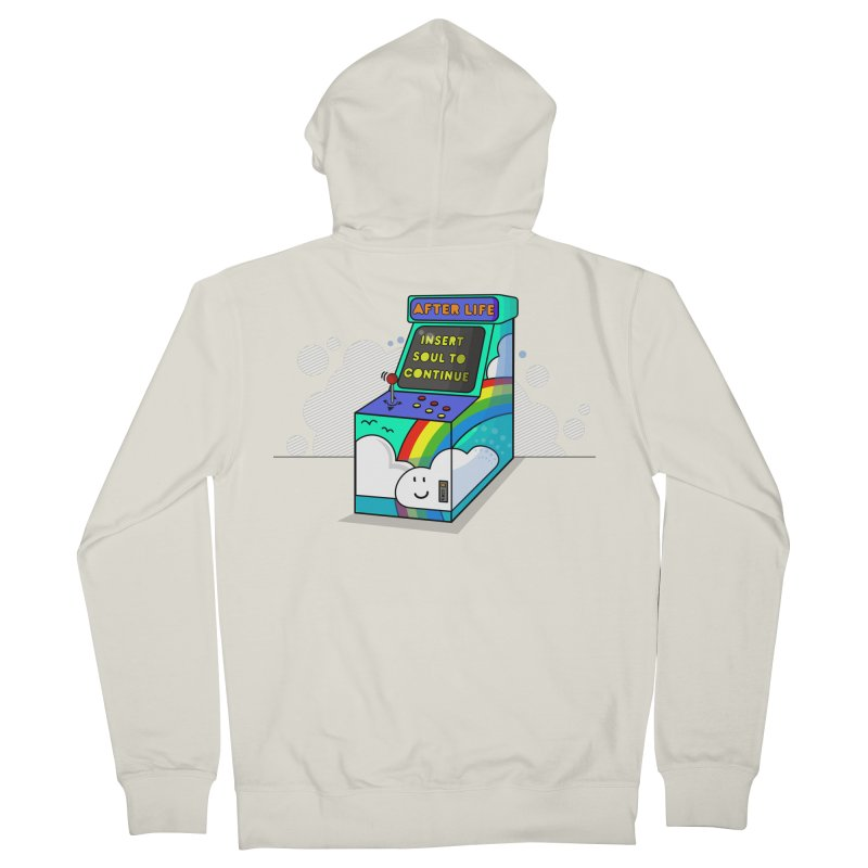 AFTERLIFE is not a game Women's Zip-Up Hoody by jumpy's Artist Shop