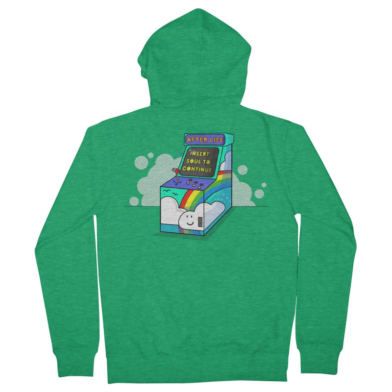 AFTERLIFE is not a game Men's Zip-Up Hoody by jumpy's Artist Shop