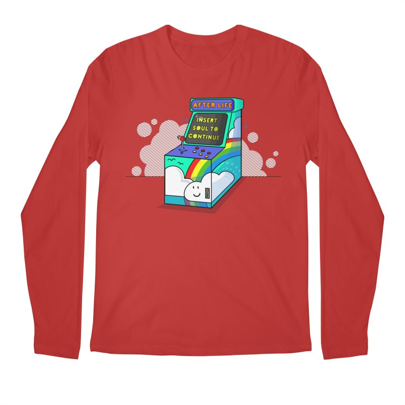 AFTERLIFE is not a game Men's Longsleeve T-Shirt by jumpy's Artist Shop