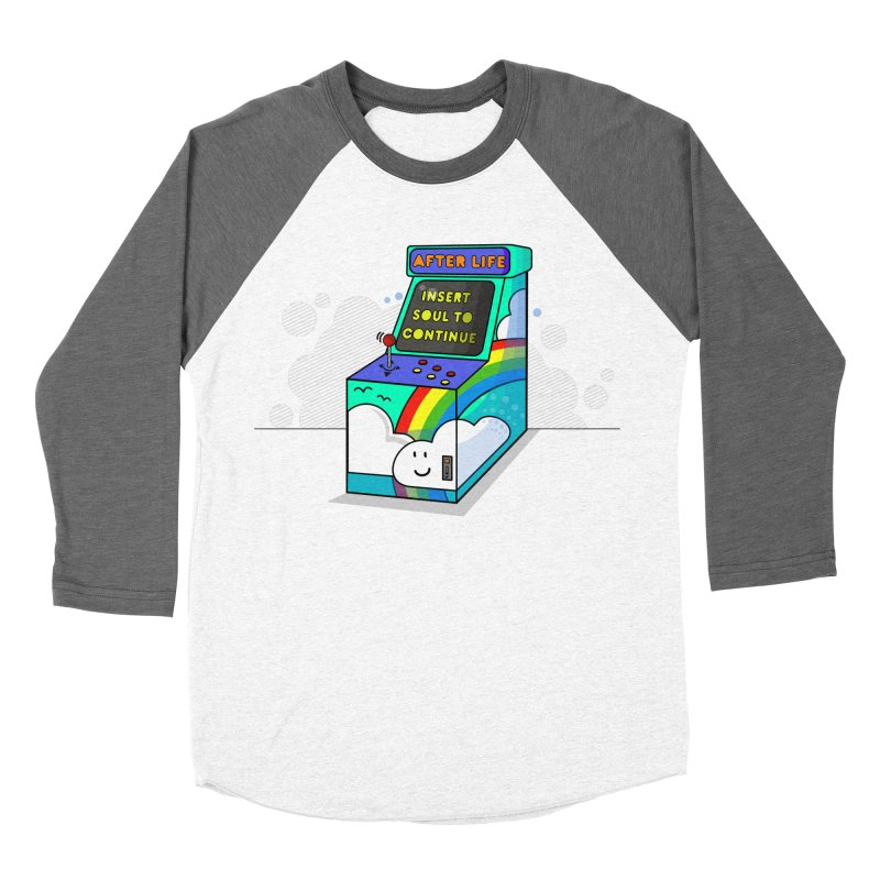 AFTERLIFE is not a game Men's Baseball Triblend T-Shirt by jumpy's Artist Shop