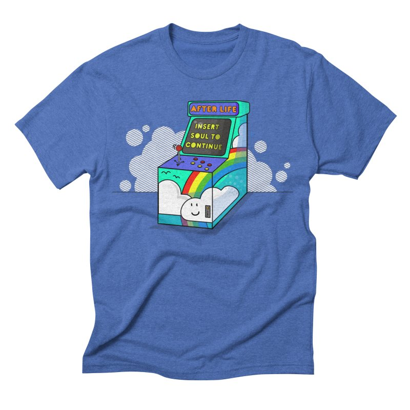 AFTERLIFE is not a game Men's Triblend T-shirt by jumpy's Artist Shop