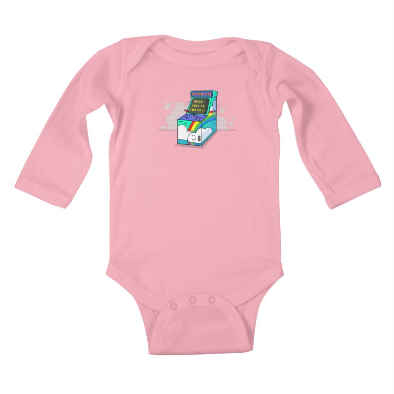AFTERLIFE is not a game Kids Baby Longsleeve Bodysuit by jumpy's Artist Shop