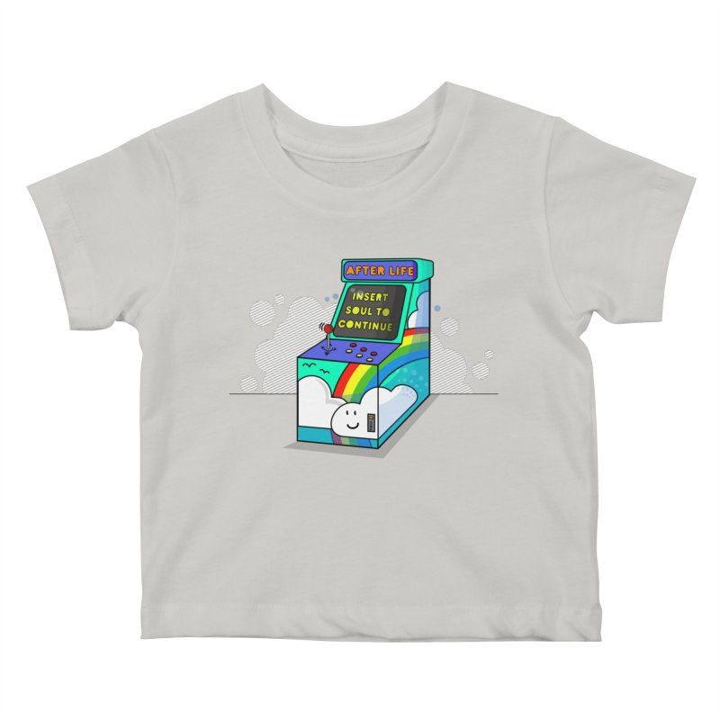 AFTERLIFE is not a game Kids Baby T-Shirt by jumpy's Artist Shop