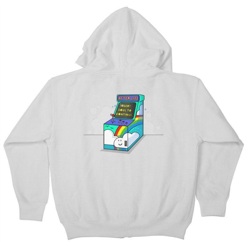 AFTERLIFE is not a game Kids Zip-Up Hoody by jumpy's Artist Shop