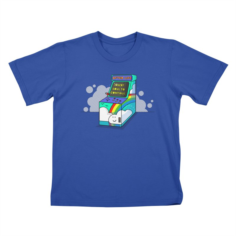 AFTERLIFE is not a game Kids T-Shirt by jumpy's Artist Shop