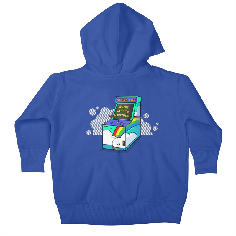 AFTERLIFE is not a game Kids Baby Zip-Up Hoody by jumpy's Artist Shop