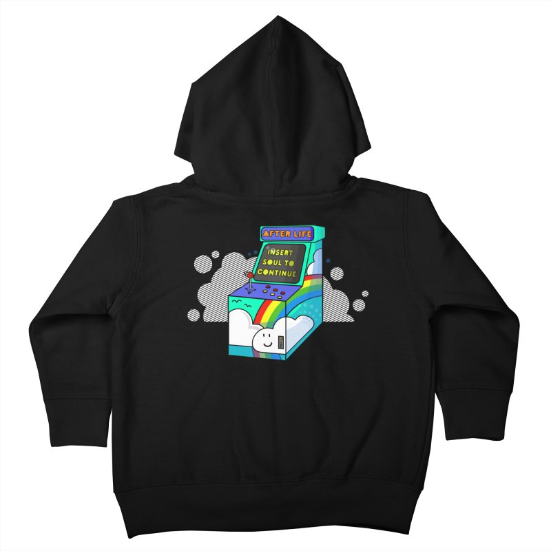 AFTERLIFE is not a game Kids Toddler Zip-Up Hoody by jumpy's Artist Shop