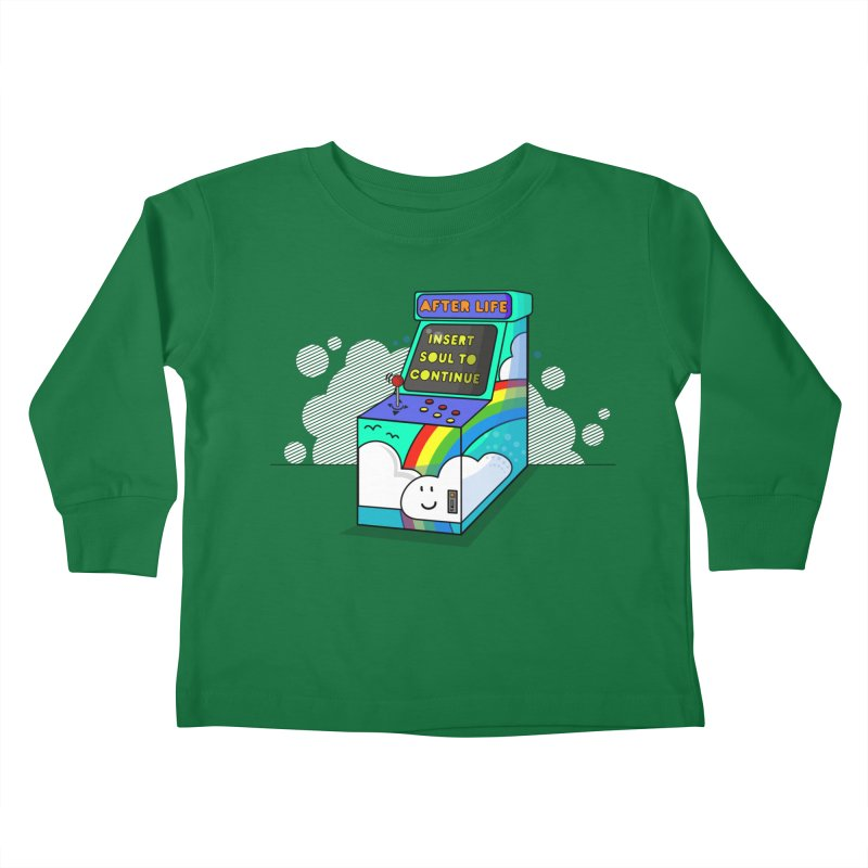 AFTERLIFE is not a game Kids Toddler Longsleeve T-Shirt by jumpy's Artist Shop