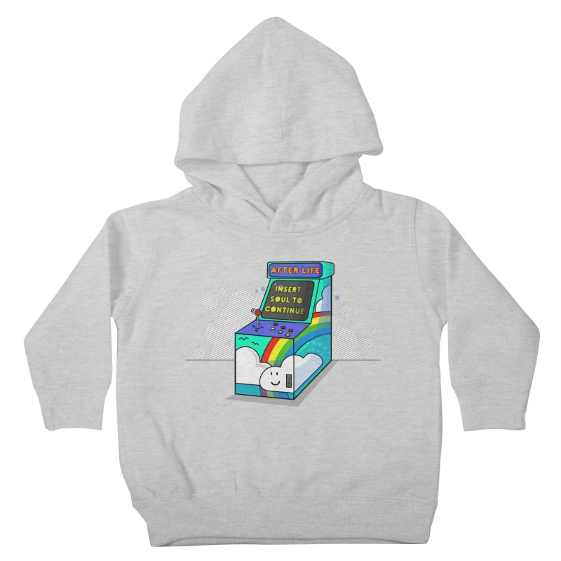AFTERLIFE is not a game Kids Toddler Pullover Hoody by jumpy's Artist Shop