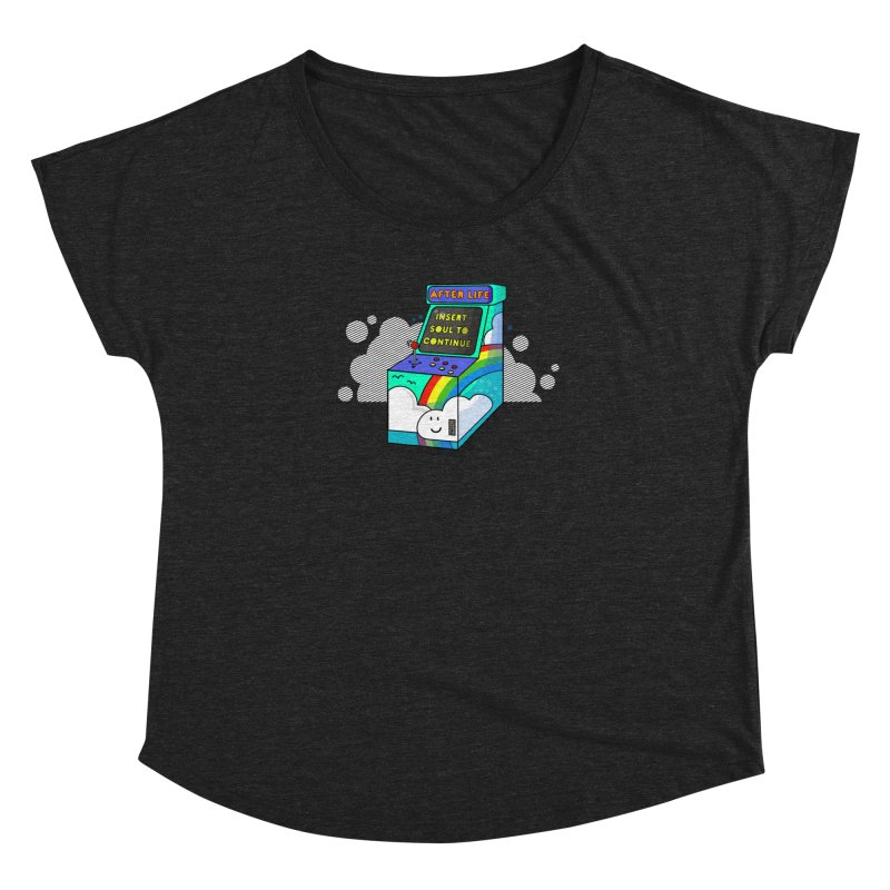 AFTERLIFE is not a game Women's Dolman by jumpy's Artist Shop