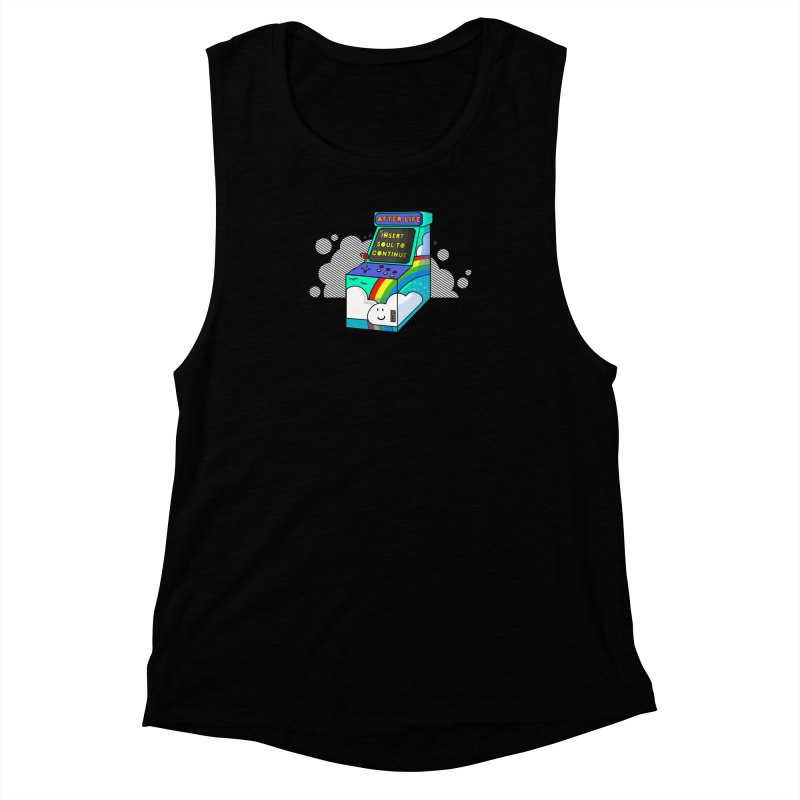 AFTERLIFE is not a game Women's Muscle Tank by jumpy's Artist Shop