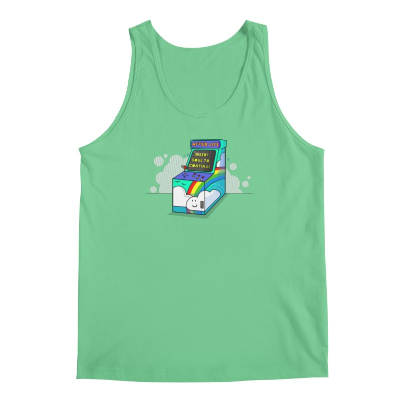 AFTERLIFE is not a game Men's Tank by jumpy's Artist Shop